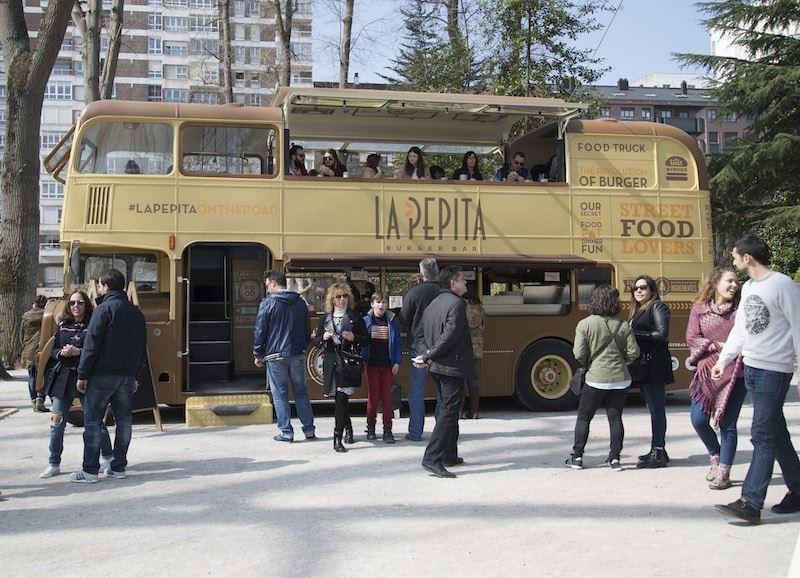 Movilbus y La Pepita participan en el Campeonato de España de Food Trucks – Premios Amstel Oro