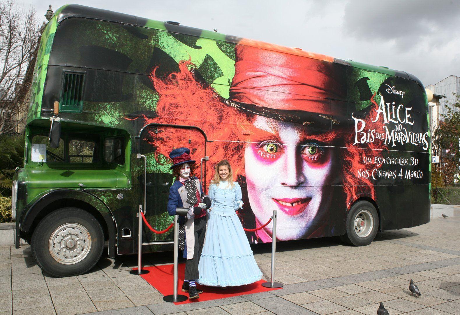 Bus inglés Disney