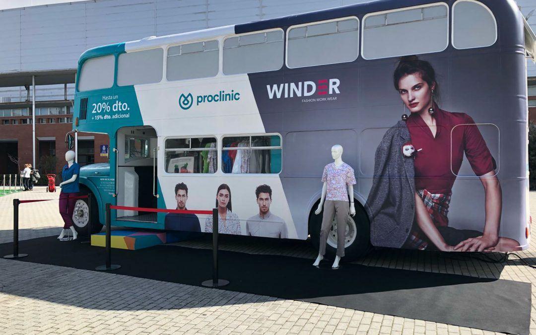 Bus inglés para WINDER de Proclinic en Expodental 2018