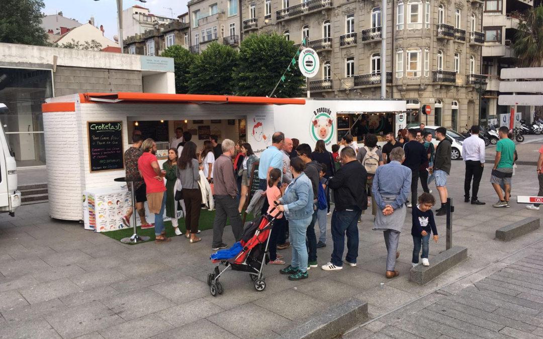 Stand móvil para CroketasD y O´Porquiño en SeaFest de Vigo
