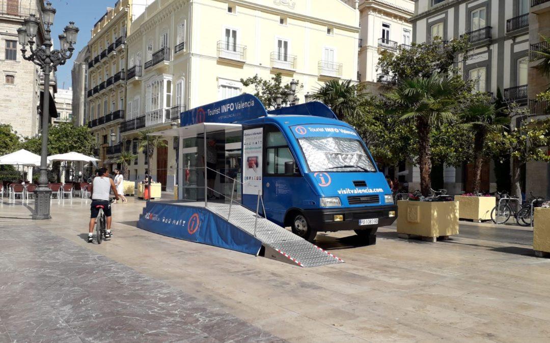 Oficina móvil de información para Turismo de Valencia: Tourist INFO VLC