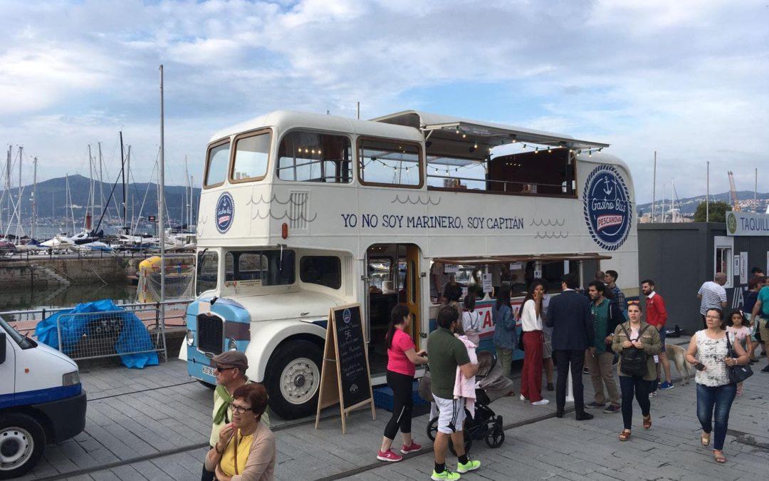 Más de 100.000 asistentes al VigoSeafest han podido disfrutar de los foodtruck Movilbus