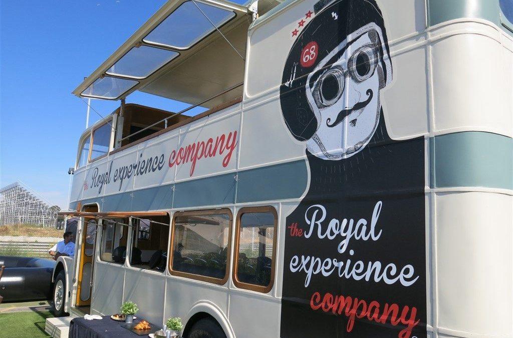 Bus inglés para The Royal Experience Company