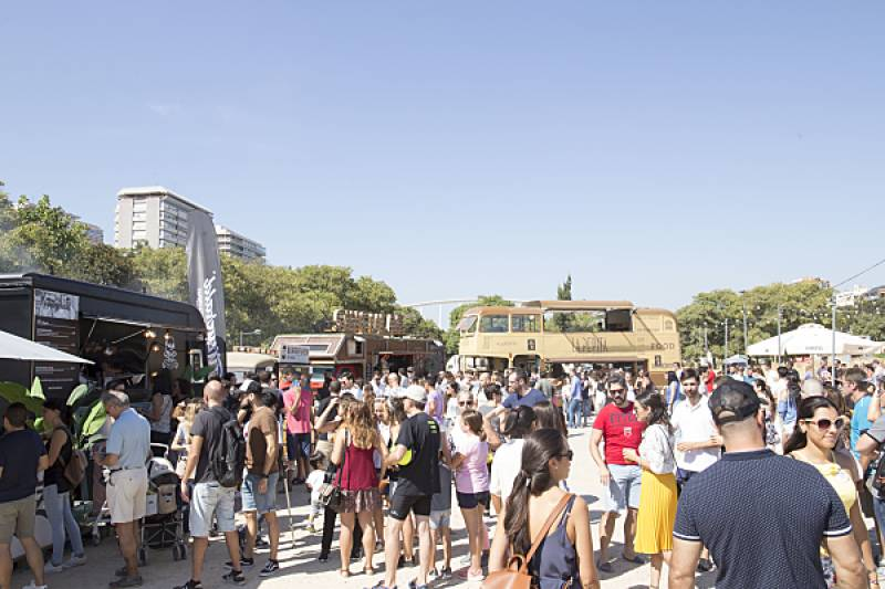 Foodtruck La Pepita en The Champions Burger de Valencia