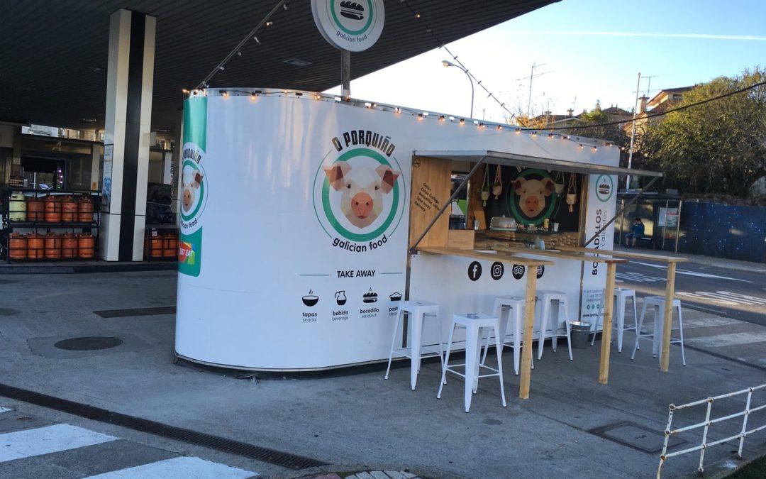 Food truck móvil O´Porquiño