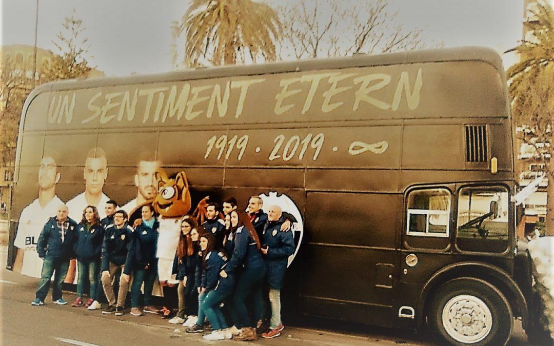 Bus inglés para Centenario Valencia CF